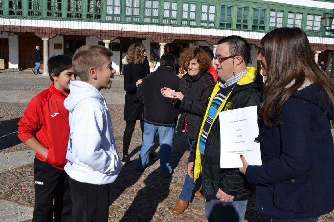 Almagro celebra el Día de la Discapacidad bajo el lema Ponte en su lugar