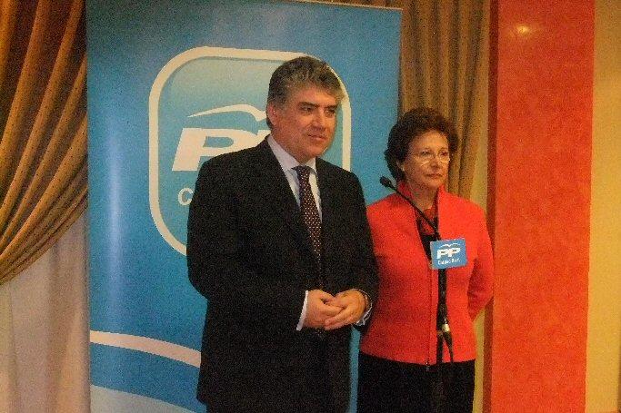 """Cotillas """"El cambio que prometió el Partido Popular está llegando y la crisis comienza a ser historia"""""""