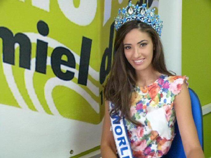 Daimiel Lourdes Rodriguez compite por ser Miss Mundo este fin de semana