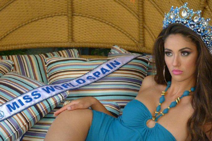 Daimiel Lourdes Rodriguez, la daimileña que rozó la corona de Miss World 2014
