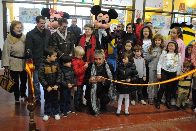 """El alcalde de Valdepeñas inauguró una nueva edición de """"Chicolandia"""""""