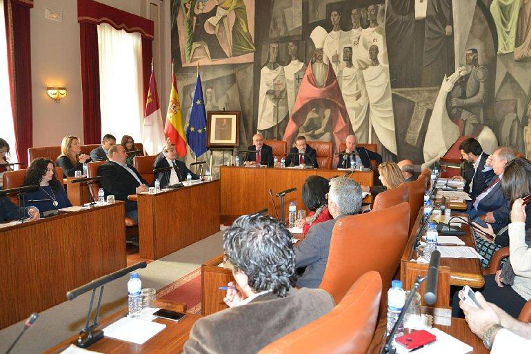 La Diputación Provincial de Ciudad Real aprueba un presupuesto que prima la creación de empleo, la solidaridad y el municipalismo