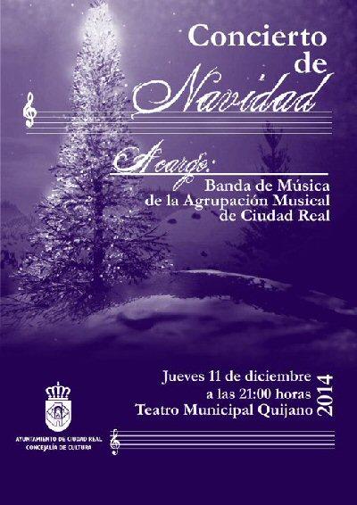 Moby Dick actuará junto a la Banda de Música de Ciudad Real en el Concierto de Navidad