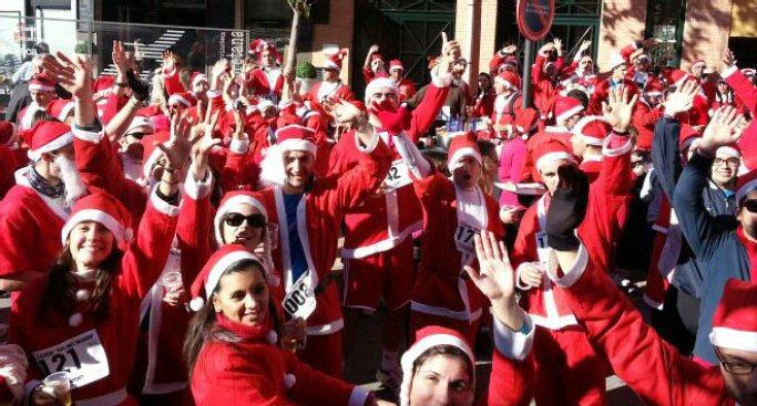 Valdepeñas Más de 400 'Papás Noeles' volverán a correr este fin de semana
