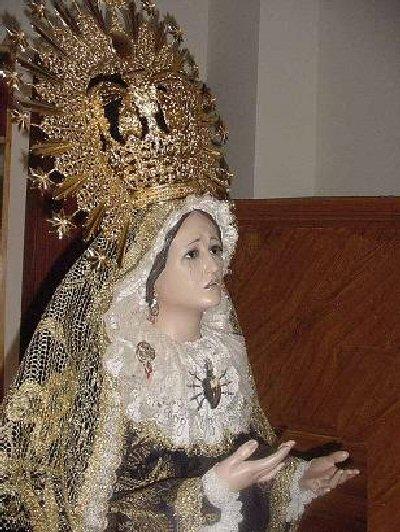 Villarrubia de los Ojos Dos detenidos por robar un anillo de la Virgen de los Dolores