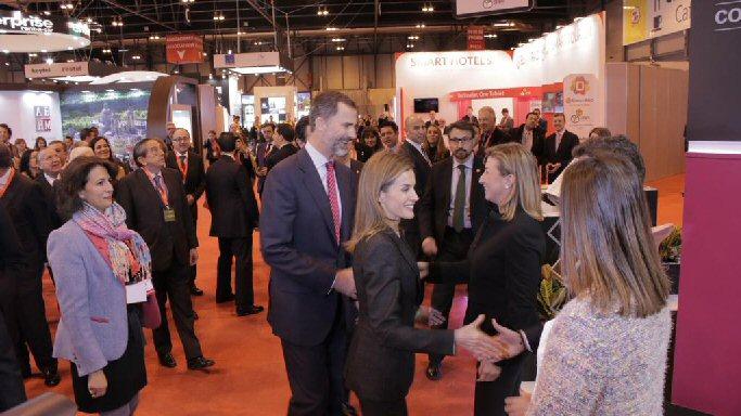Almagro Luis Maldonado asiste hoy a la inauguración oficial de Fitur 2015