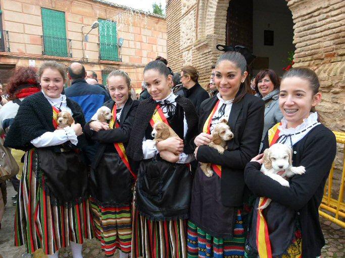 Manzanares La proclamación de mayorala y el pregón abren las fiestas de San Antón