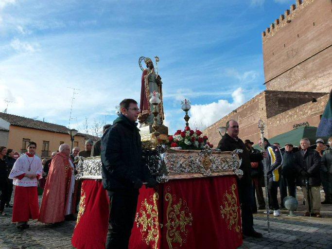 Manzanares celebra la fiesta de San Blas