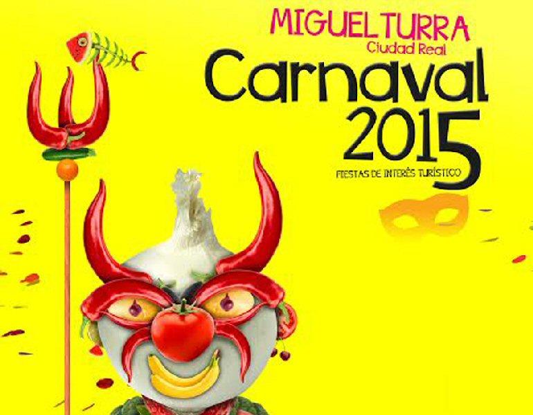 Miguelturra Un murciano es el ganador del Concurso del Cartel Anunciador de los Carnavales 2015