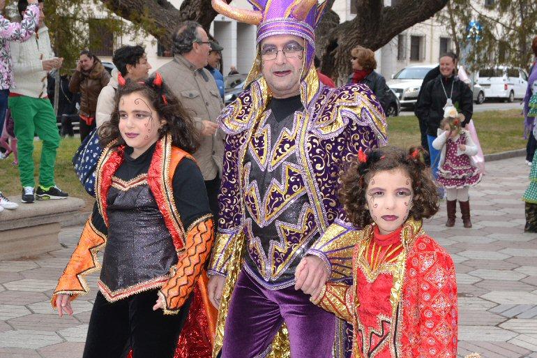 Almagro Sus Cachondísimas fueron puntuales, un año más, con la cita carnavalera de la ciudad encajera