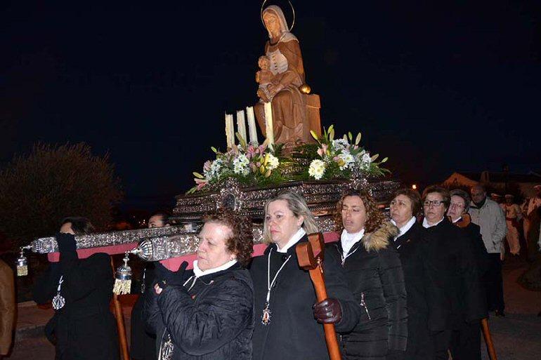 Almagro celebró la festividad de la Virgen de la Candelaria pese al mal tiempo