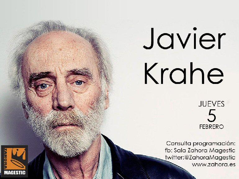 Ciudad Real Javier Krahe lleva a Zahora Magestic sus canciones