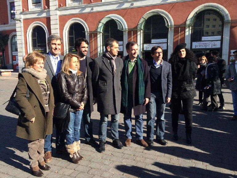 La candidata de UPyD a la presidencia de Castilla-La Mancha participa en Madrid en el acto de presentación del equipo de campaña del partido