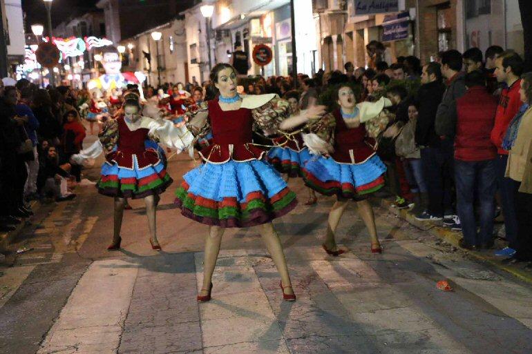 Miguelturra Pinocho de Harúspices de Tomelloso conquista el Premio Especial de Carrozas