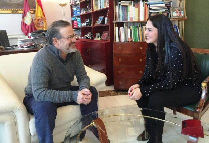Moral de Calatrava Barahona evalúa con Nemesio de Lara la situación de la localidad