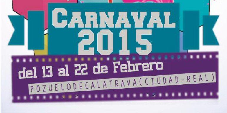 Programación Carnaval 2015 Pozuelo de Calatrava