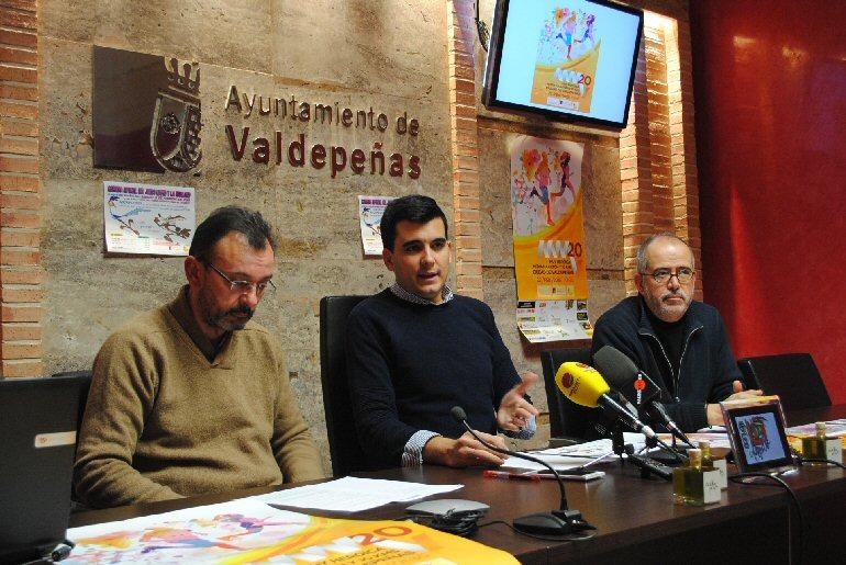 Valdepeñas celebra el 22 de febrero la 'XX Muy Heroica Media Maratón' con más de 1.000 atletas