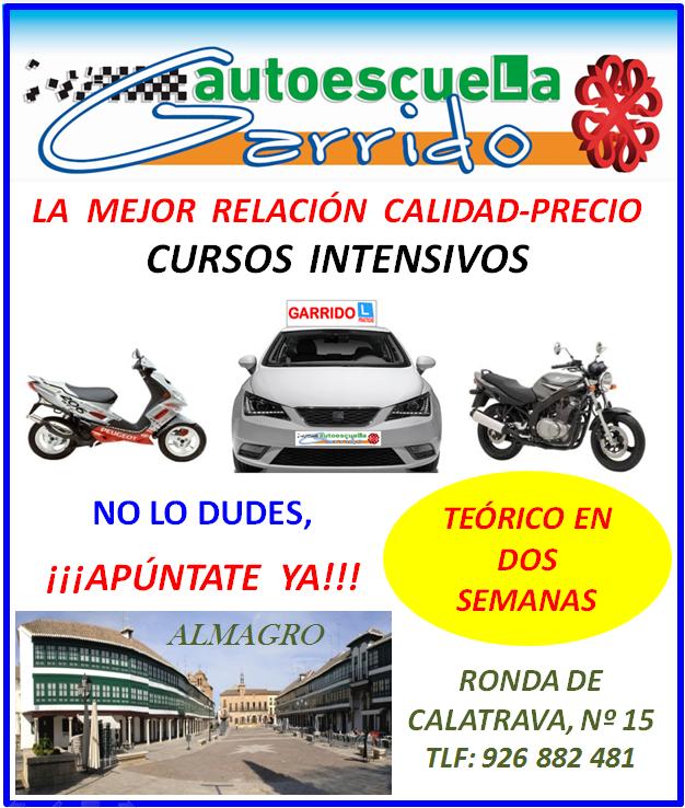 Autoescuela Garrido Septiembre Gral