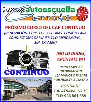 Autoescuela Garrido - Rda. Calatrava, 15 - 926 861 689 - ALMAGRO