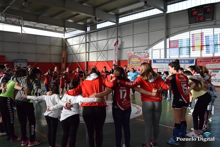 El BM Pozuelo de Calatrava es el único equipo invicto del Sector G del Campeonato de España de Clubes