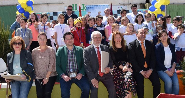 El Colegio Público José María de la Fuente recibió el Premio Nacional de Seguridad Vial de la Dirección General de Tráfico