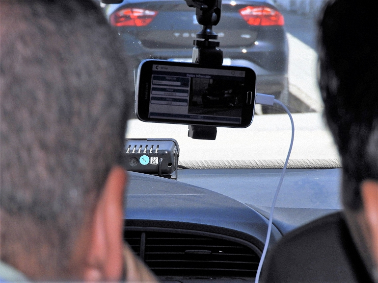 Manzanares La Policía Local incorpora un nuevo sistema para mejorar la seguridad vial