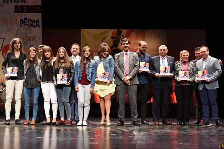premios a los clubes en la gala del deporte de la diputación provincial