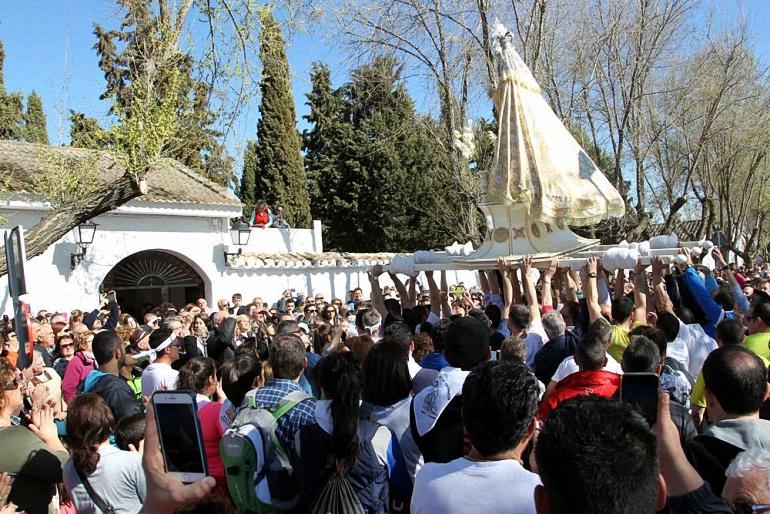 Carrión de Calatrava celebra este domingo la Romería en honor a su patrona, la Virgen de la Encarnación