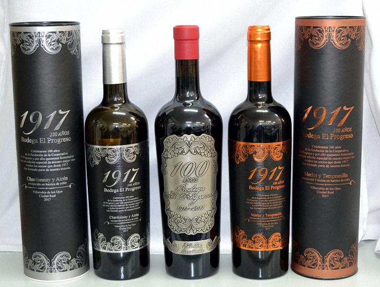 El Progreso presenta en FENAVIN los 3 vinos conmemorativos de su centenario