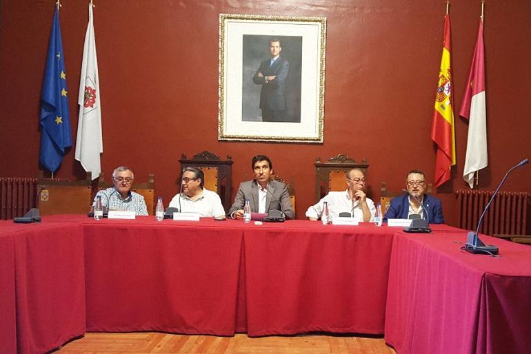 Almagro Los Alcaldes de la Democracia celebraron el 40 aniversario de las primeras elecciones democráticas en España