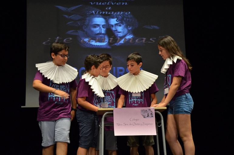 Almagro Pasapalabra celebró su especial décimo aniversario en el Corral de Comedias
