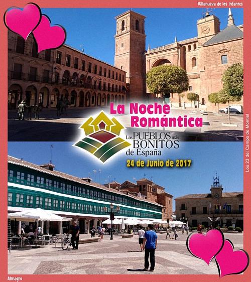Almagro y Villanueva de los Infantes se promocionarán turísticamente en La Noche Romántica