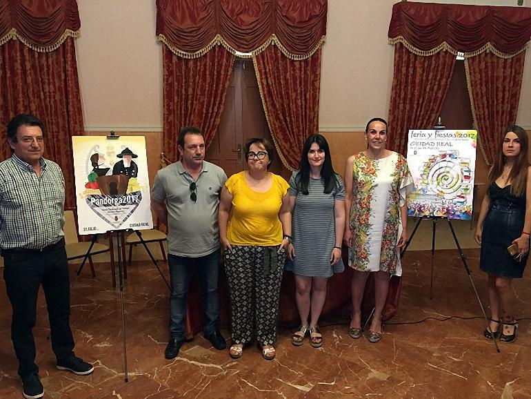 Ciudad Real Presentados los carteles de la Pandorga y de la Feria 2017