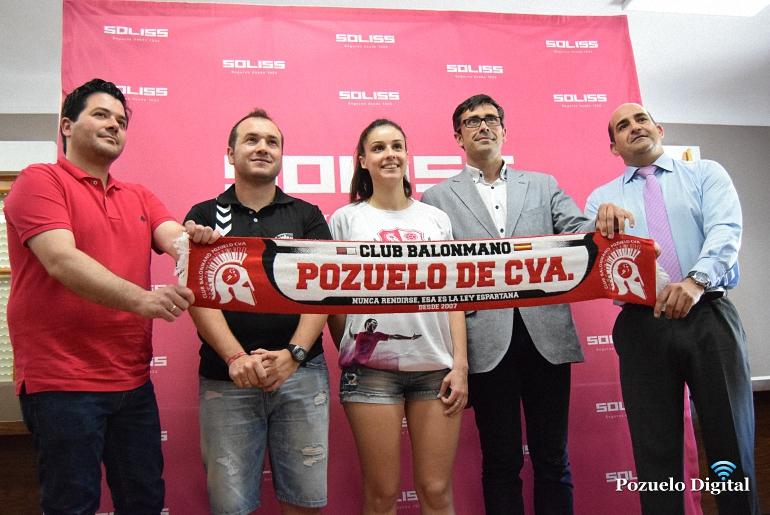 Seguros Soliss será el sponsor del BM Pozuelo de Calatrava para la próxima temporada