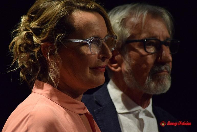 Almagro Un José Sacristán emocionado recibe el XVII Premio Corral de Comedias