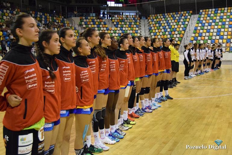 Jimena Laguna debuta en la seleccion española con victoria frente a la selección de Rusia