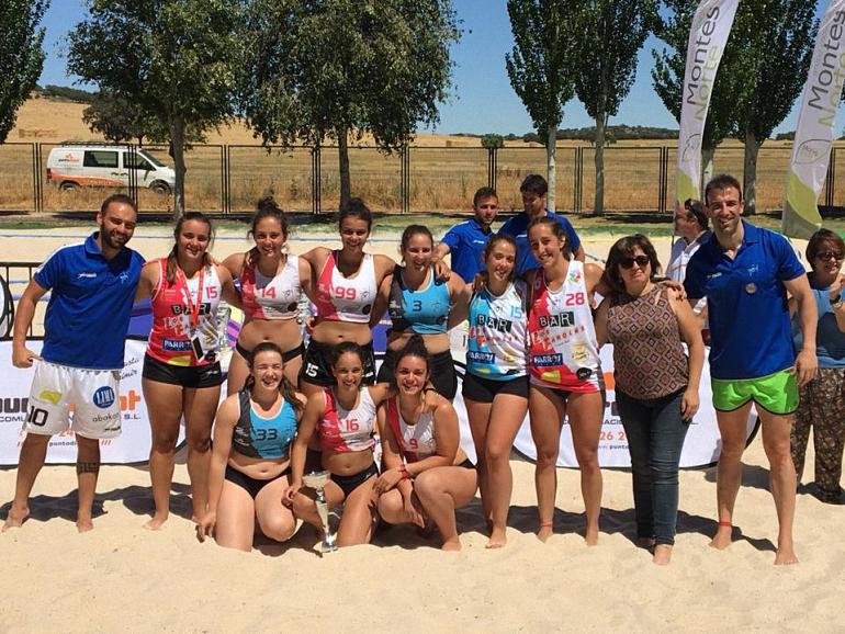 Las juveniles del BM Playa Ciudad Real consiguen el oro en el Arena 500