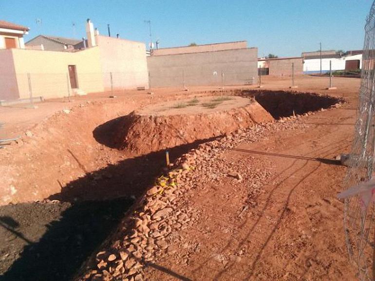 Moral de Calatrava El PSOE solicita la paralización inmediata de las obras del parque de la calle Dulcinea por la falta de proyecto de obras