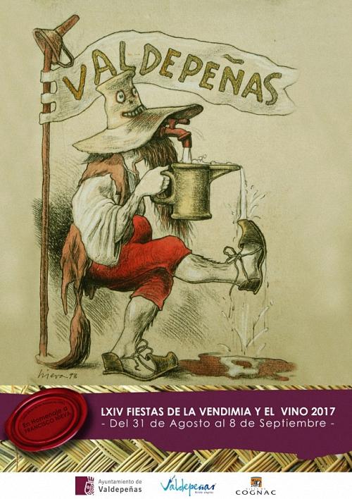 Valdepeñas Programación de las Fiestas del Vino 2017