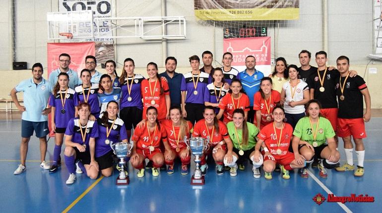 El Almagro FSF campeón del Trofeo Diputación de Fútbol Sala Femenino 2017