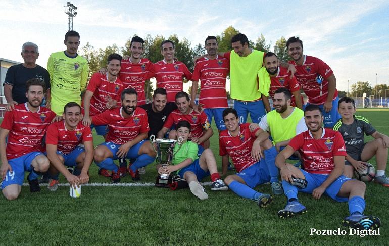 El Pozuelo CF vence en el XXVI Trofeo Pozoconcejo al AD Valenzuela
