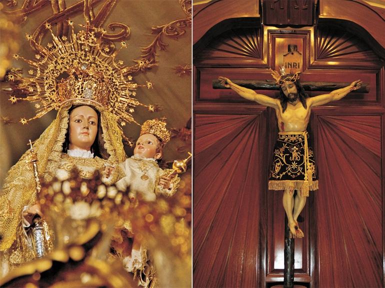 La Virgen del Valle y el Cristo del Consuelo de Aldea del Rey