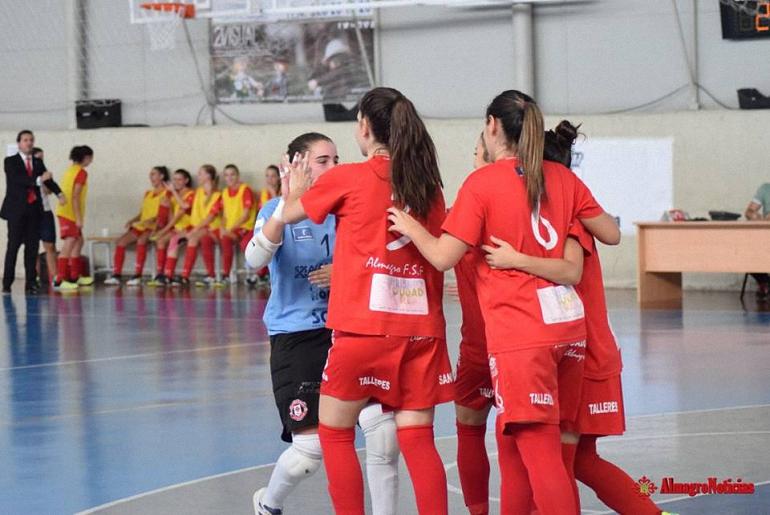 El Almagro FSF sigue liderando la tabla tras un espectacular partido con victoria en casa