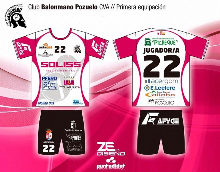 El Soliss BM Pozuelo jugará este fin de semana con la segunda equipación en homenaje a las mujeres con cáncer de mama