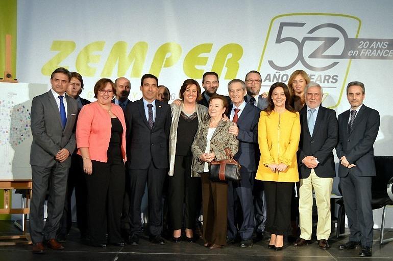 Zemper celebra su 50 aniversario