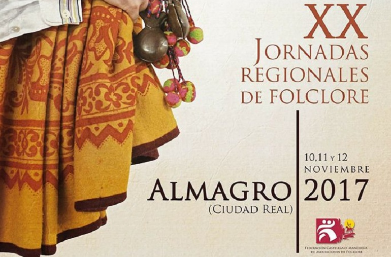 Almagro celebra este fin de semana las XX Jornadas Regionales de Folclore con Tierra Roja como anfitriona