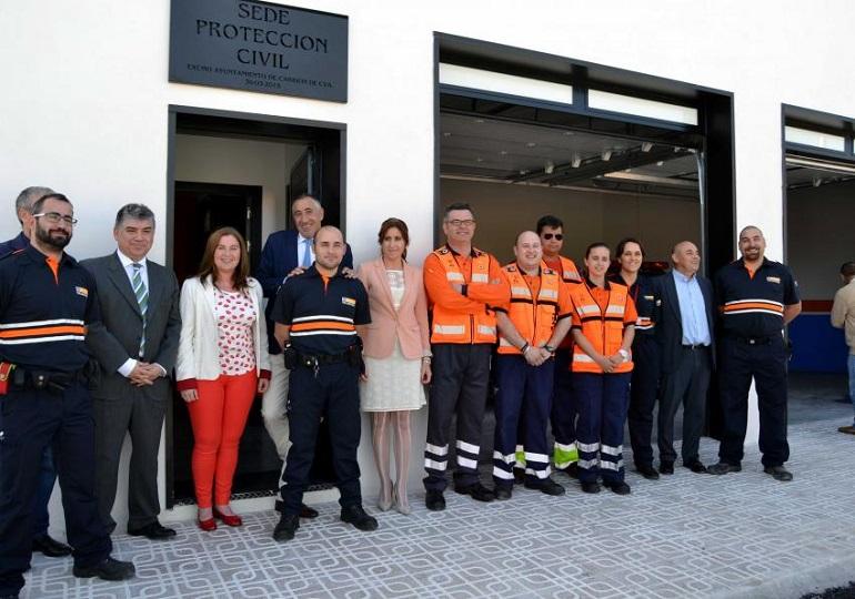 Carrión de Calatrava La Agrupación de Voluntarios de Protección Civil recibirá una tienda de campaña para primeros auxilios