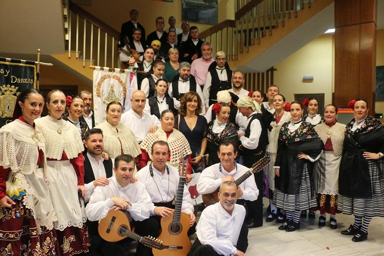 Miguelturra La Asociación de Coros y Danzas Nazarín celebró su 35 Aniversario