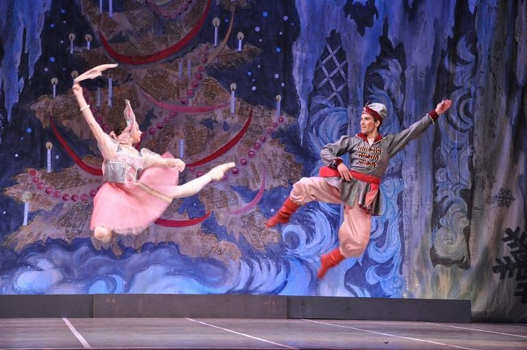 Valdepeñas El Ballet Ruso interpretará este viernes el clásico navideño El Cascanueces en el Teatro Francisco Nieva