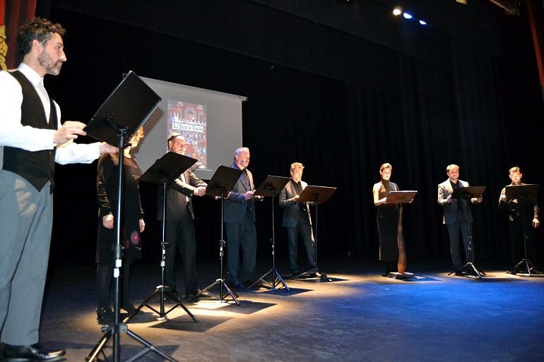 Almagro La lectura en el Teatro Municipal de Alfonso VIII y la judía de Toledo cierra los actos del VIII Centenario del traslado de la Orden de Calatrava